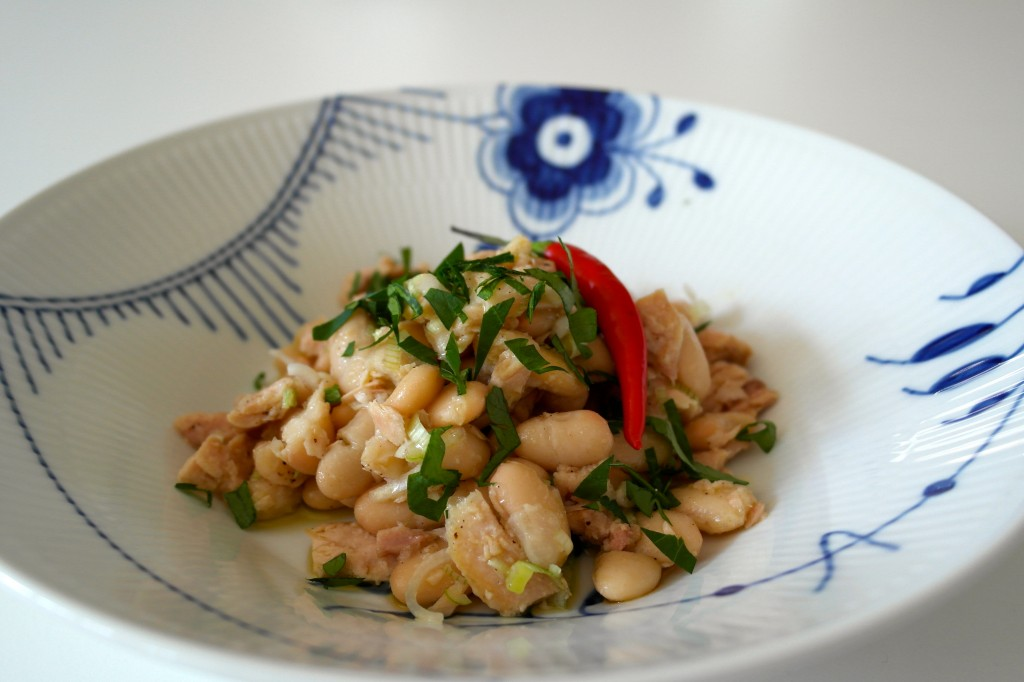 White Tuna Bean Salad