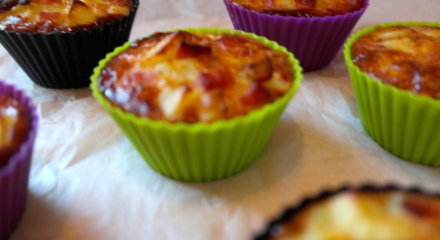 Lunch box #1: Tortilla Muffins