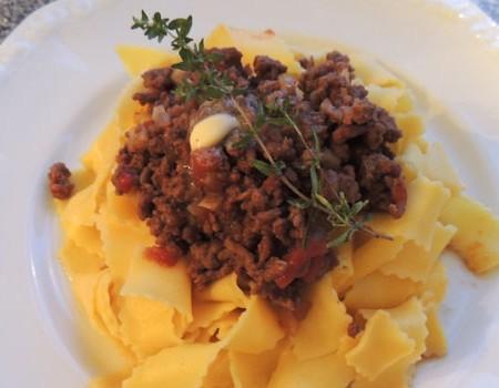 Lamb Bolognese