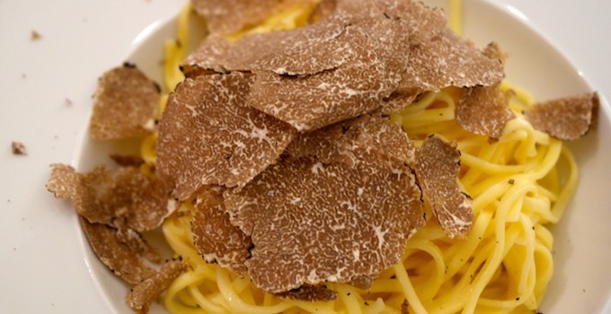Pasta with truffle – as simple as that!