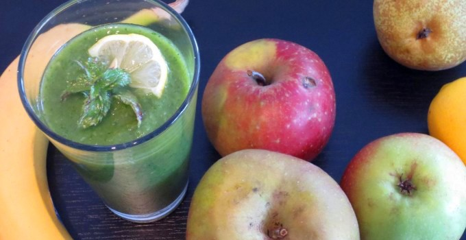 Green smoothie – Popeye would have loved it!