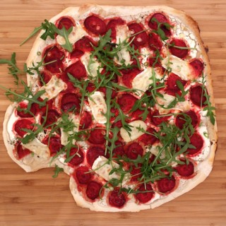 beetroot pizza