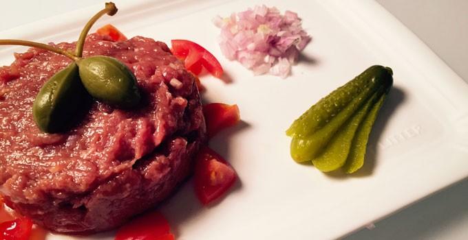 Beef Steak Tartare – an all time classic