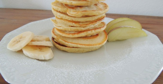 Soy Pancakes with maple sirup