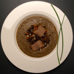 lentil soup smoked eel